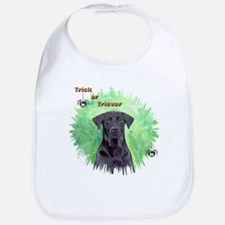 Halloween Labrador Retriever  Bib
