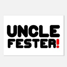 UNCLE FESTER! Postcards (Package of 8)