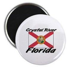 Crystal River Florida Magnet