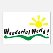 Wanderful world Postcards (Package of 8)