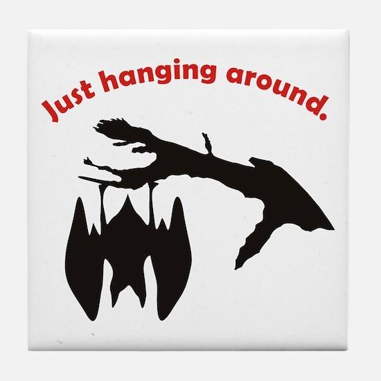 Just hanging around Tile Coaster