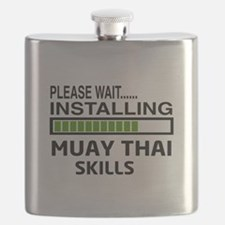 Please wait, Installing Muay Thai skills Flask