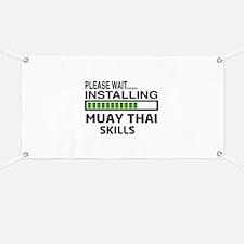 Please wait, Installing Muay Thai skills Banner