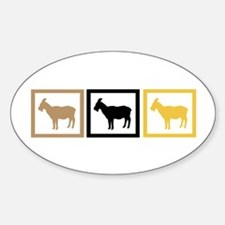 Goat Squares Decal