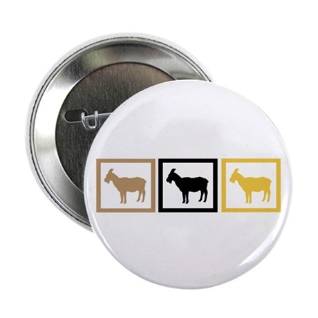 """Goat Squares 2.25"""" Button (10 pack)"""