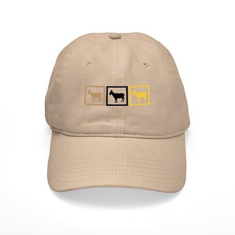 Goat Squares Cap