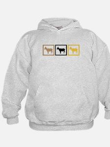 Goat Squares Hoodie