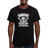 Auto mechanic Fitted T-shirts (Dark)