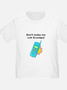 Grandpa Phone Baby / T