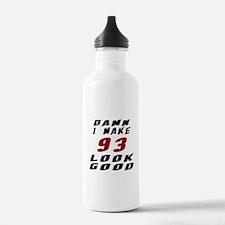 Damn I Make 93 Look Go Water Bottle