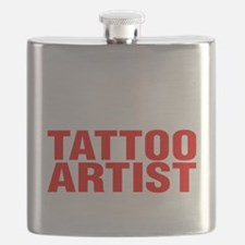 Cute Tattoo artist Flask
