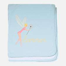 Summer Fairy baby blanket