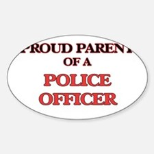 Proud Parent of a Police Officer Decal