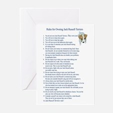 Rules for Owning JRTs Greeting Cards (Pkg.of 6)