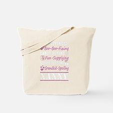 Cute Nanny Tote Bag