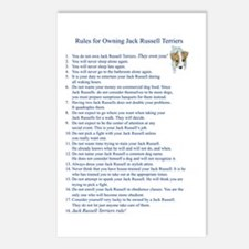 Rules for Owning JRTs Postcards (Package of 8)
