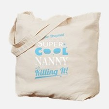 Funny Nanny Tote Bag