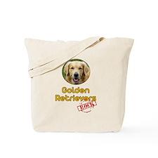 Golden Retrievers Rock Tote Bag
