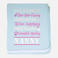 Nanny baby blanket