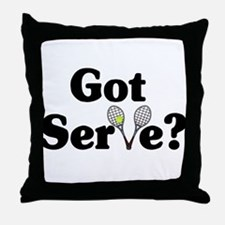 Got Serve? Tennis Throw Pillow