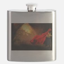 Little Red Riding Hood Story Art Flask