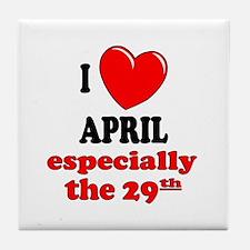 April 29th Tile Coaster