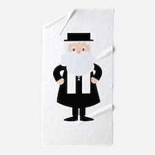Rabbi Beach Towel