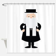 Rabbi Shower Curtain