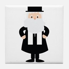 Rabbi Tile Coaster