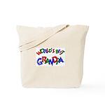 World's Best Grandpa Tote Bag