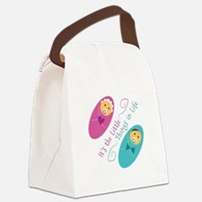 The Little Things Canvas Lunch Bag