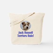 Jack Russell Terriers Rule Tote Bag