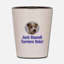 Jack Russell Terriers Rule Shot Glass