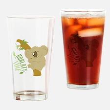 Koalaty Time Drinking Glass