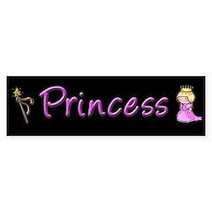 Princess Bumper Bumper Sticker