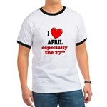 April 27th Ringer T