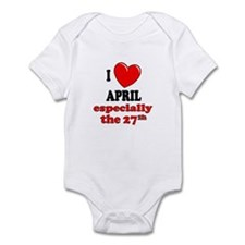 April 27th Infant Bodysuit