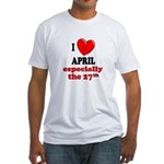 April 27th Fitted T-Shirt