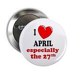 April 27th Button