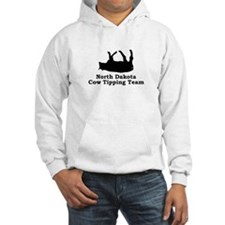 North Dakota Cow Tipping Hoodie