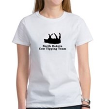 North Dakota Cow Tipping Tee