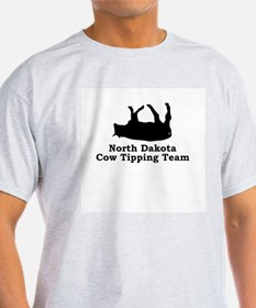 North Dakota Cow Tipping T-Shirt