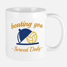Beating You In Volleyball Mug