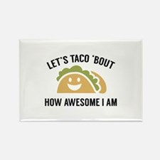 Let's Taco 'Bout Rectangle Magnet