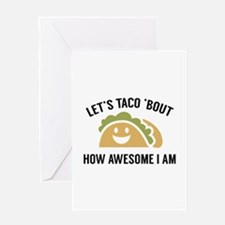 Let's Taco 'Bout Greeting Card