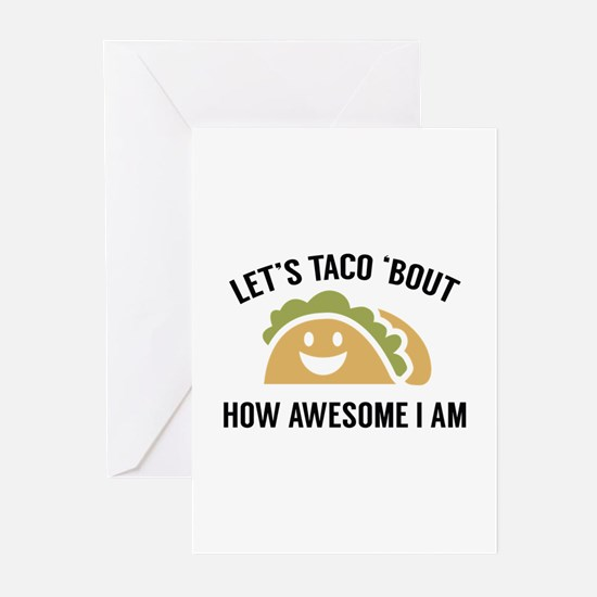Let's Taco 'Bout Greeting Cards (Pk of 20)