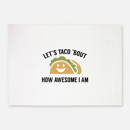 Let's Taco 'Bout 5'x7'Area Rug