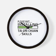 Please wait, Installing Tai Chi Chuan s Wall Clock