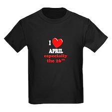 April 26th T