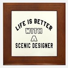Scenic designer Designs Framed Tile